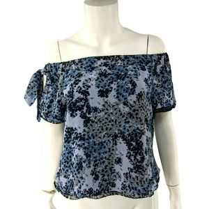 Timo.Weiland Kyle Silk Top Shirt Off The Shoulder